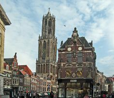 Utrecht-Dom Tower by giovanni paccaloni, via Flickr