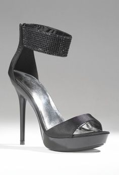Shoes - High Heel Platform Sandal with Wide Rhine Top Band from Camille La Vie and Group USA