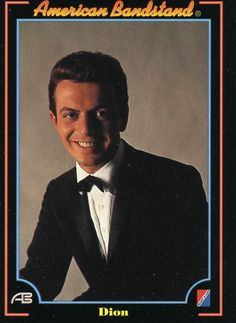 RARE 1993 COLLECT A CARD DICK CLARK'S AMERICAN BANDSTAND DION #14 MINT
