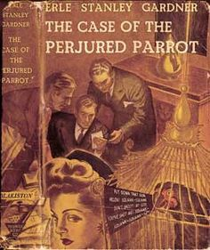My memory of reading Perry Mason books ~ I was home sick when I was in the 5th grade, and my daddy stopped by the library to pick me up some books to read ~ yeah, Perry Mason!  Loved it!  I say that those books started me on my love of reading.