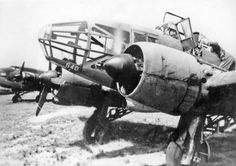 Potez 63.11 heavy fighter at an airfield, date unknown