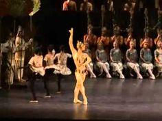 """Ivan Vasiliev's """"Explosive"""" jumps - La Bayadere Golden Idol variation in Bolshoi Ballet's production of La Bayadere."""