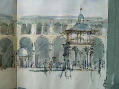 A Syria sketchbook, 1994, Ben Pentreath, UK.