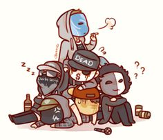 Hollywood undead chibi