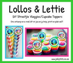 Lollos en Lettie Baby Party, Cupcake Toppers, Birthday Parties, Breakfast, Word 2, Desserts, Gisele, Kids, Party Ideas