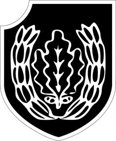 Insignia of the 16th SS Panzergrenadier Division Reichsführer SS
