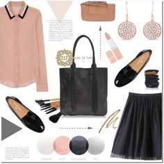 A fashion look from October 2015 featuring RED Valentino blouses and Bebe skirts. Browse and shop related looks.