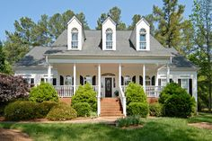 Home exterior. Exterior home painting. Colonial home. Winterize your home.