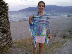 Super Ideas For Crochet Summer Shawl Infinity Scarfs Crochet Fall, Crochet Summer, Irish Crochet, Bridal Shawl, Lace Wrap, Crochet Gloves, Shawls And Wraps, Summer Triangle, Infinity Scarfs