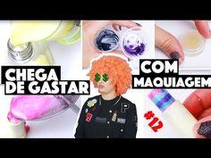CRIANDO KIT DE MAQUIAGEM CASEIRA SEM GASTAR NADA #13   KIM ROSACUCA - YouTube