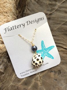 Hawaiian Drupe Shell Necklace by FlatteryDesigns on Etsy