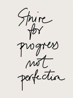 Always make progress.