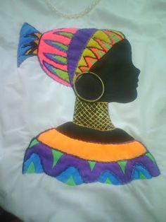 IMAGENS AFRICANAS PARA PINTURA EM CAMISETA - Desenhos e Riscos - Desenhos para colorir