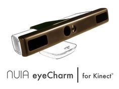 NUIA eyeCharm: Kinect® to eye tracking by 4tiitoo, via Kickstarter.  Experience the fascination of controlling your computer directly with your eyes!