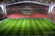Toyota Stadium Kisho Kurokawa, Leonel Messi, Basketball Court, Soccer, Sports Stadium, Field Of Dreams, Football Stadiums, Toyota, Around The Worlds