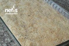 Çıtır Çıtır Tel Tel Cevizli Kadayıf Tatlısı - Nefis Yemek Tarifleri Iftar, Pasta, Pasta Recipes, Pasta Dishes