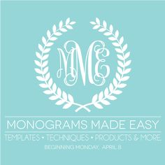 How do I make and use frames like this? There are downloadable ones but what can I do with them? Monograms Made Easy Series | Damask Love Blog