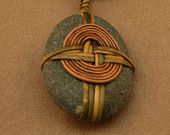 Wrapped Stone Pendant