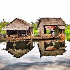 Scenes from a floating village near Siem Reap, Cambodia. Photo courtesy of reachjody on Instagram.