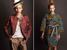 Inspired by her Creole heritage and her upbringing in Rome, Italian-Haitian designer Stella Jean merges both cultures with traditional wax prints and modern shapes.