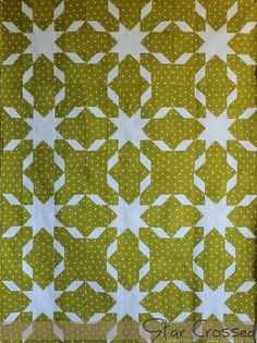 Piece N Quilt: Star Crossed Sew-Along with Fat Quarter Shop