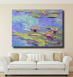JOSE-TRUJILLO-WATERLILIES-IMPRESSIONISM-OIL-PAINTING-DECOR-MADE-TO-ORDER-029