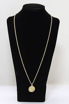 Authentic Christian Dior   Gold  Tone  Necklace  11405C - http://designerjewelrygalleria.com/christian-dior/authentic-christian-dior-gold-tone-necklace-11405c/