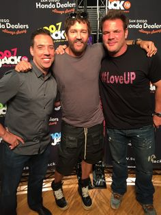 JACK's VIP Series feat: Stephan Jenkins of Third Eye Blind! Photo with Johnjay and Rich!