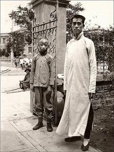 A Tall Man, China 1920s.