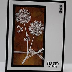 Lots of great scrap & card ideas on this site ~ Bronzing Birthday