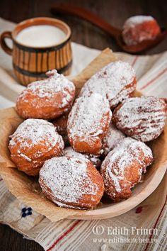 gogosi (Romanian doughnuts)