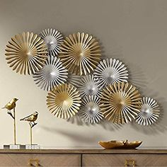 Shop a great selection of Newhill Designs Sparks 45 Wide Gold Silver Metal Wall Art. Find new offer and Similar products for Newhill Designs Sparks 45 Wide Gold Silver Metal Wall Art. Modern Metal Wall Art, Metal Wall Art Decor, Metal Tree Wall Art, Diy Wall Decor, Diy Home Decor, Gold Wall Decor, Metal Art, Gold Metal Wall Art, Mural Wall Art