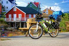 Vamos Juntos (My Bike Expedition in Norway) Norway, Bike, Together Lets, Bicycle, Bicycles