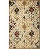 Found it at Wayfair - Tapestry Ivory / Beige Panel Rug