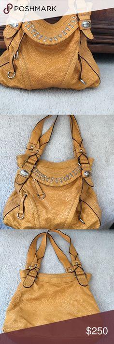 Yellow Sophia Caperelli Handbag Worn on the left side. Sophia Caperelli Bags Shoulder Bags