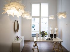 "Monir - die Haus-""Nachbarin"" Jewellery Showroom, Dining Table, Furniture, Home Decor, Haus, Dinning Table, Interior Design, Dining Rooms, Home Interior Design"
