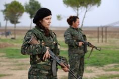 Christian female fighters take on ISIS in Syria #29635