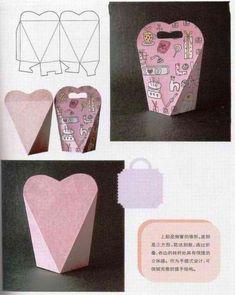 Handmade-kursy ,wzory ,tutoriale: Pudełka z papieru-szablony