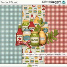 Quality DigiScrap Freebies: Perfect Picnic mini kit freebie from Kristin Aagard…