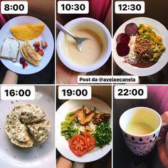 Healthy Life, Healthy Eating, Menu Dieta, Weight Loss Detox, Vegan Recipes, Food Porn, Food And Drink, Low Carb, Yummy Food