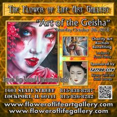 Art Shows at the Flower of Life Art Gallery 1601 S State St. Lockport, IL