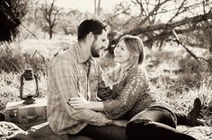 Knights Ferry, CA Vintage DIY Engagement Session