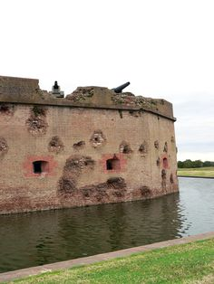 Fort Pulaski -- Did you know that there are still live rounds stuck in the walls of the fort!? Live cannon balls that is. A MUST see when traveling to Savannah.