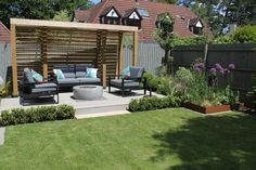 Creating outstanding garden and landscape projects in Bristol, North Somerset and surrounding areas. Backyard Seating, Outdoor Seating Areas, Garden Seating, Backyard Patio, Backyard Landscaping, Fire Pit And Seating Area, Outside Seating Area, Terraced Landscaping, Deck Seating