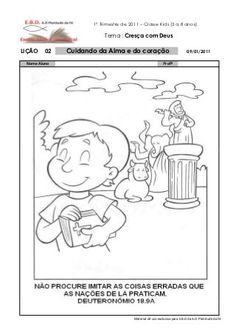 Material crianças ebd professor Peanuts Comics, Kids Study, Kids Bible Activities, Old Testament, Dresses For Special Occasions, Bible