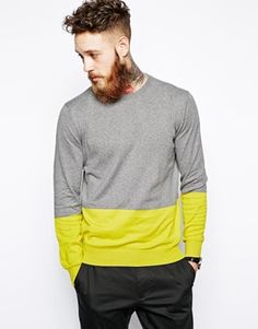 PS by Paul Smith Jumper with Colour Block