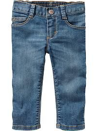 Medium-Wash Skinny Jeans for Baby (2T)