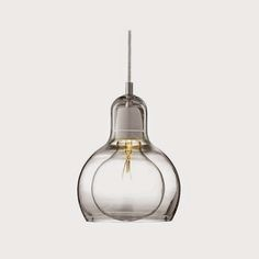 Details:The &Tradition Mega Bulb Pendant by Sofie Refer, though superior in size, is actually the younger sister of Bulb. The Mega Bulb Pendant features mou Luminaire Design, Lamp Design, Contemporary Pendant Lights, Modern Lighting, Pendant Lamp, Pendant Lighting, Ceiling Pendant, Led Filament, Lights Artist