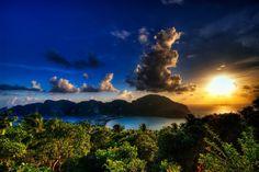 Sunset at Phi Phi Island