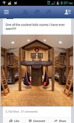 Best kids room ever.